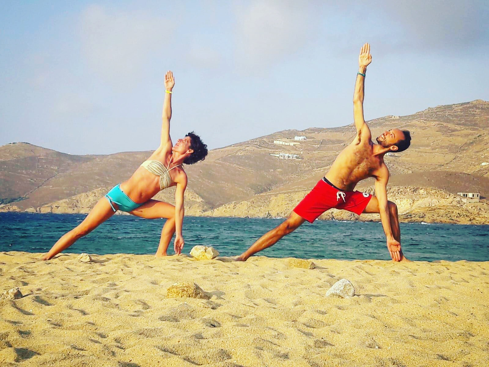 Bikram Yoga y verano